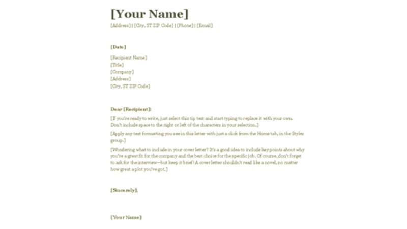 image of plantilla de carta en word plantilla de carta
